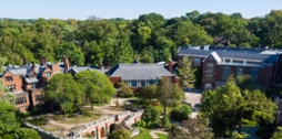 Photo of Chatham University's Shadyside Campus.